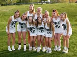 Girls Lacrosse: Ridge Defeats Watchung Hills on Senior Night, 16-3