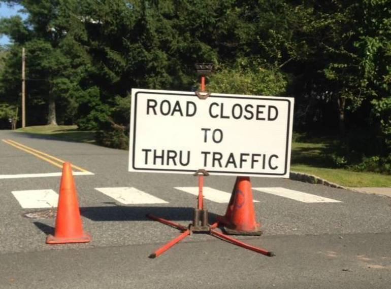 Road Construction in Bernards Township
