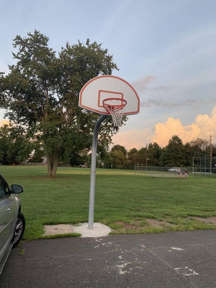 Roosevelt School's Basketball Hoop