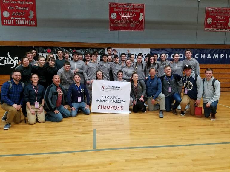 Roxbury Indoor Percussion Champions Group Photo.jpg