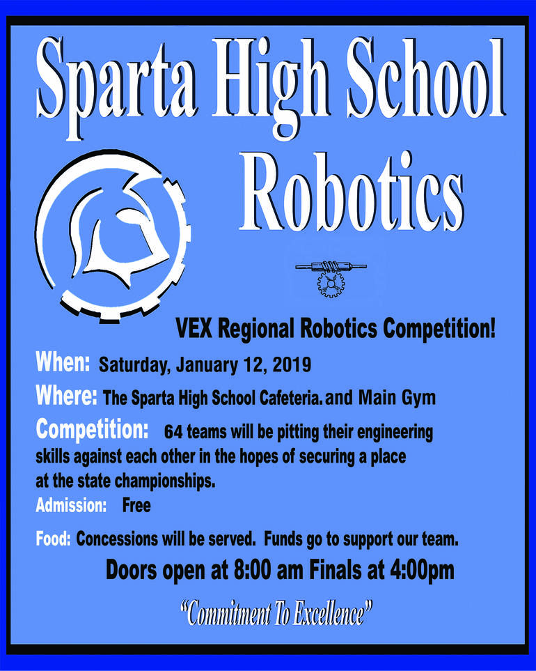 Sparta High School Robotics Competition Tapinto
