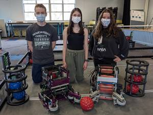 Harvey and Kennedy Catholic Team Up to Win State Robotics Championship