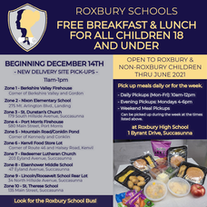 Roxbury Schools New Delivery Sites throughout Roxbury Township