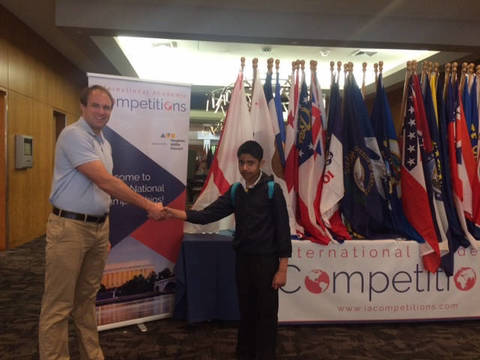 Cedar Hill Preparatory School Student Attends National Geography Bee And Olympiad