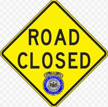 Top story ef10f77203702d13f965 road closed  sign with lmpd logo embeded