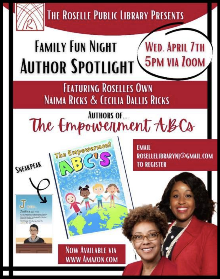 Roselle Public Library Celebrates National Library Week with Local Author Spotlights