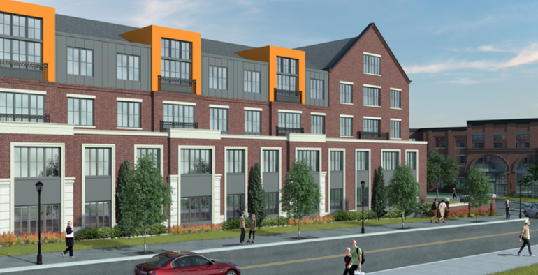 Chatham River Road Apartments will have 24/7 Doorman, Concierge Service, Train Shuttle Bus; 500 Under-building Parking Spaces
