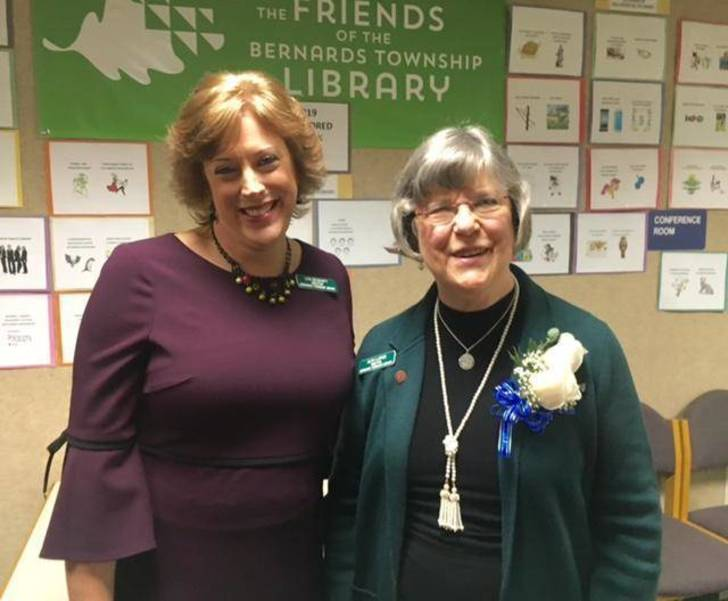 New and Retiring Library Director in Bernards Twp.