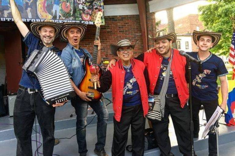 Traditional Colombian Dance and Folk Music Performed in Summit Apr. 25