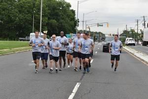 Cranford Police Participate in Special Olympics Torch Run