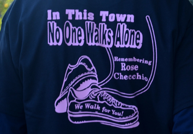 Scenes from the Rose Checchio Walk to Wipe Out Breast Cancer in Scotch Plains
