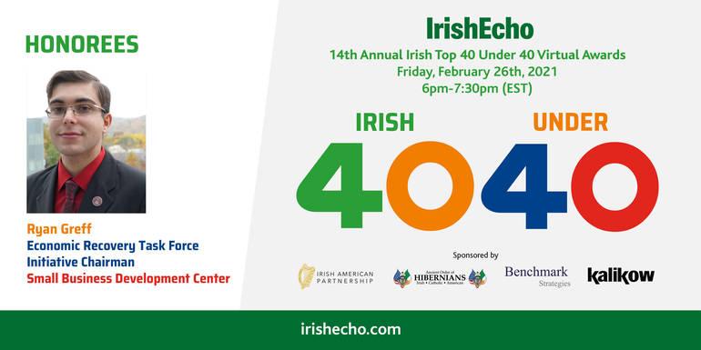 Fair Lawn Man Receives Top Irish-American Honor for Business Leadership