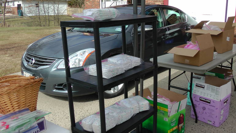 James O. Bryant Food Pantry Partners with Piscataway Police, Area Doctors with Food Distribution, Vaccine Registry