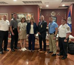 Kenilworth Public Safety Meeting is a Success