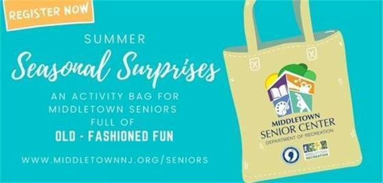 Seasonal Surprise Bags Program for Middletown Senior Citizens!