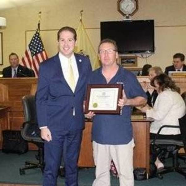 Middletown Township Recognizes Two Outstanding Citizens at Township Committee Meeting