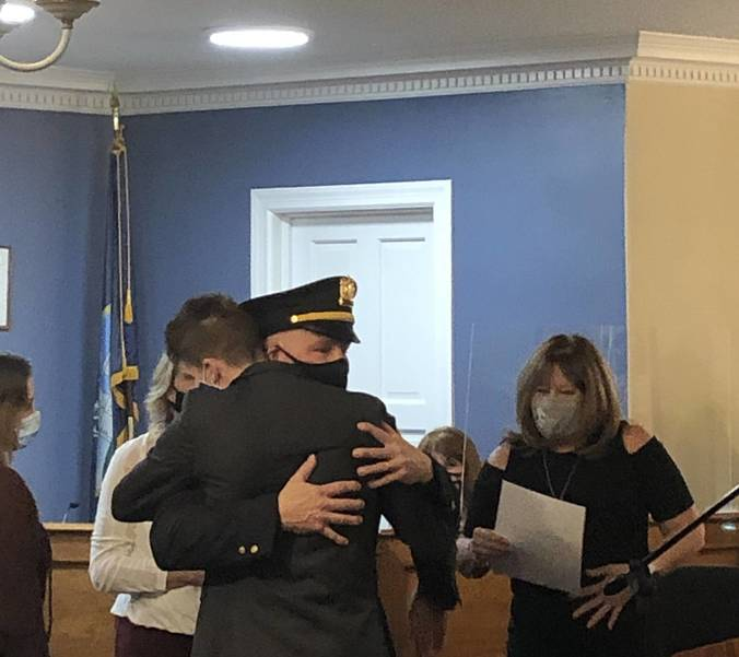 It's Official: Fred Soos Sworn In as Kenilworth Chief of Police