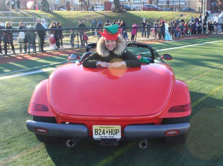 Local Businesses Make Santa's Arrival by Helicopter in Nutley Possible