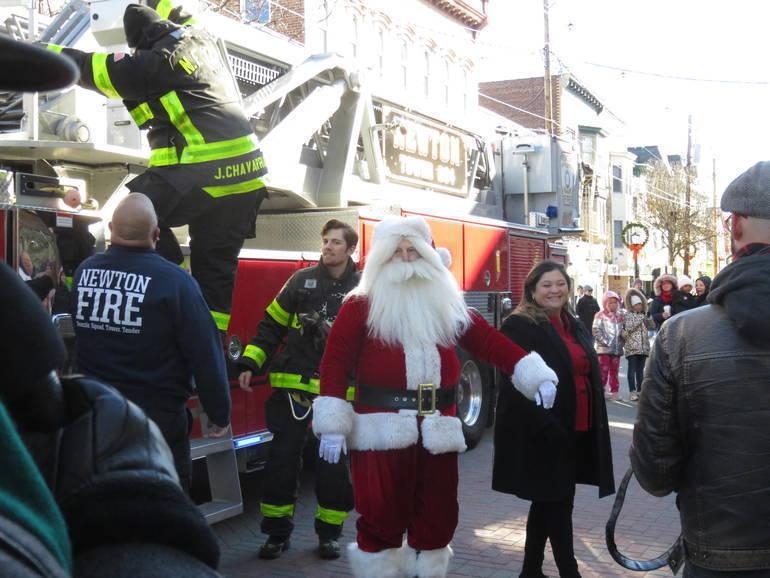 Newton Announces Santa's Route Through Town on Saturday