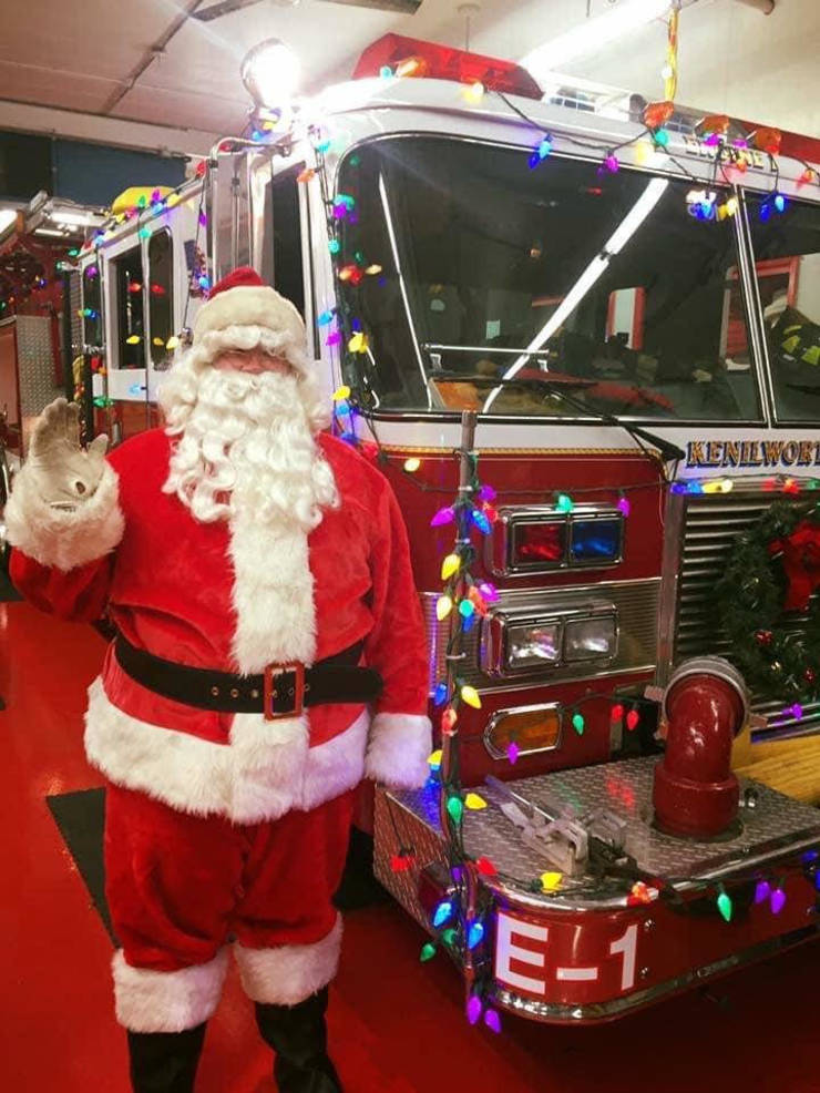 Kenilworth Fire Department Santa's Express Update