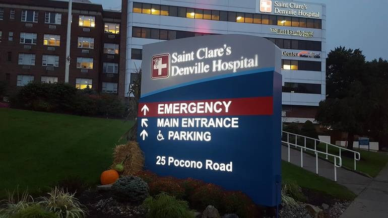 Saint Clare's Health Denville Hospital Experiences Fire