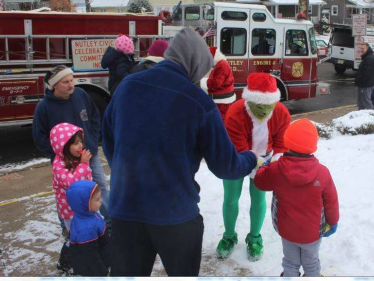 Santa Claus is Coming to Town! He Returns to Nutley Dec. 15 for the Annual Fire Truck Ride