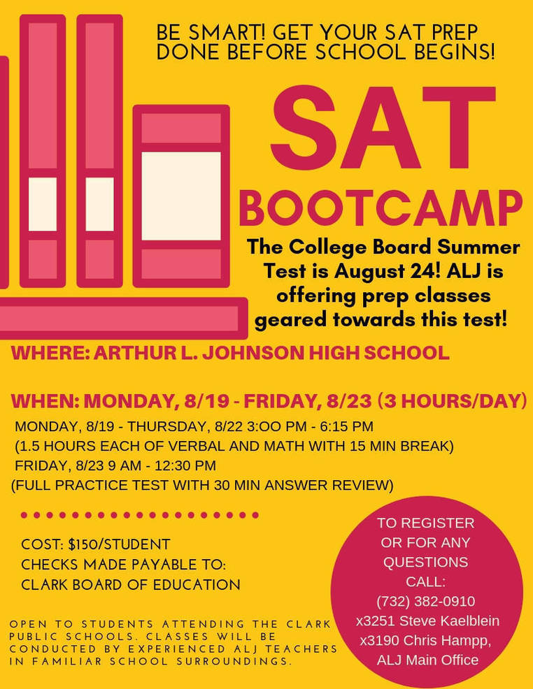 SAT Bootcamp Coming to Arthur L  Johnson High School | TAPinto