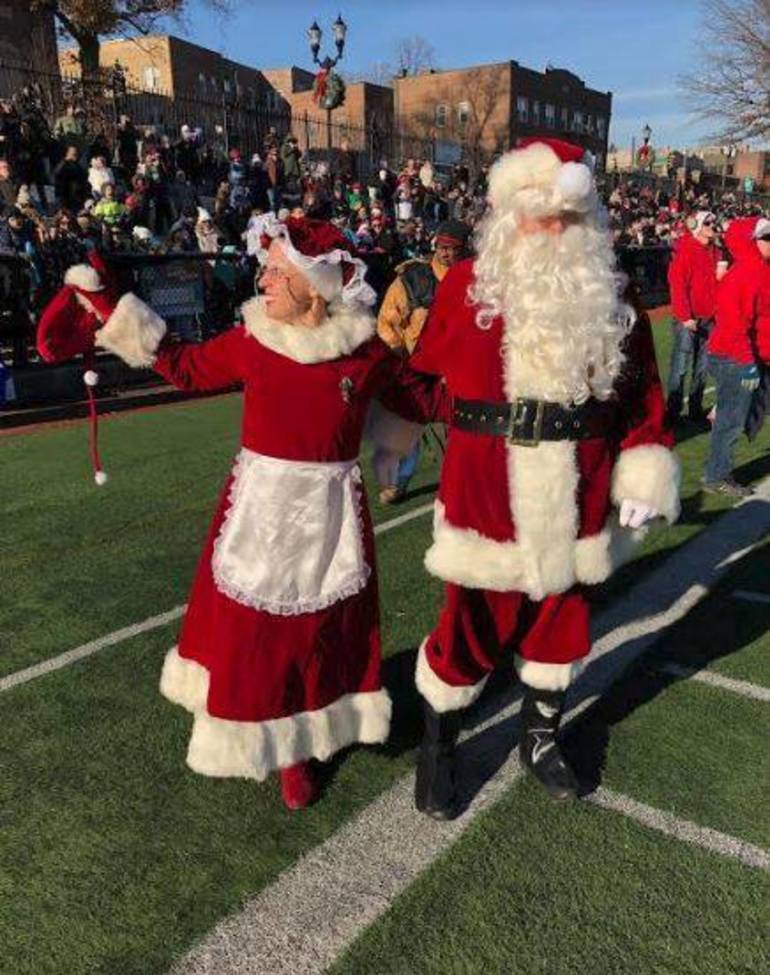 Santa's Arrival Brings Christmas Spirit and Local Shoppers to Nutley