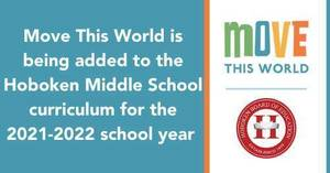 Hoboken Public Schools Add Move This World to Middle School Curriculum