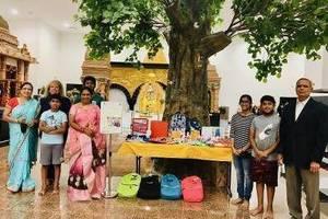 Sai Datta Peetham school supplies
