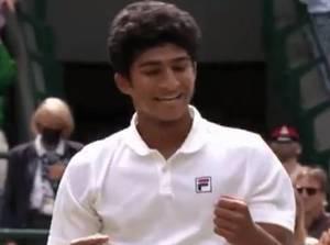 Samir Banerjee, Ridge senior and Wimbledon winner