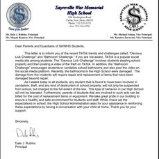 Carousel image d2a13a5c646471836d3d sayreville high school letter to parents