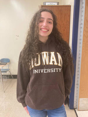 David Brearley Class of 2021's Sara Pantano is Headed to Rowan University