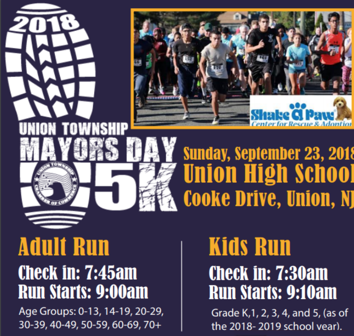 Union Chamber Kicks off Mayor's Day 5K
