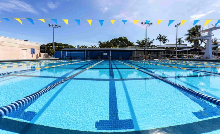 Coral Springs Works To Repair Pool At Coral Springs Aquatic Complex