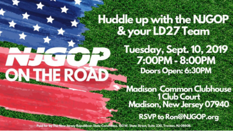 Madison GOP Hosting Huddle event on Sept 10th
