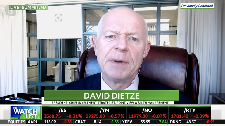 VIDEO: Point View's Dietze Says Positive Vaccine News Will Help Drive 'Tremendous Earnings Rebound' in Major Portion of the Market