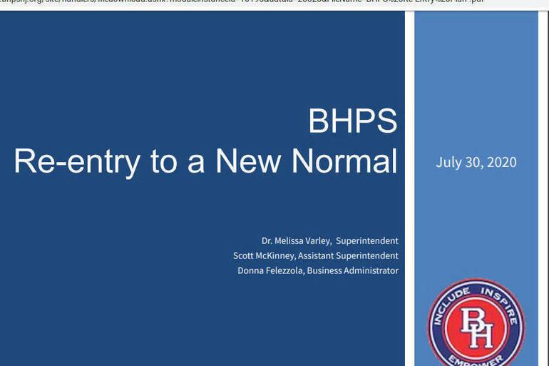 BH BOE Re-entry Presentation
