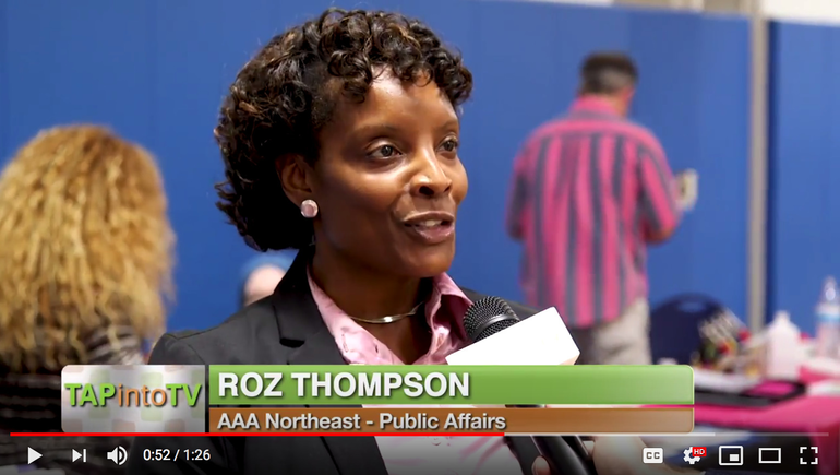 Roz Thompson of AAA Northeast Speaks About Supporting the Community at Susan G. Komen Women's Wellness Expo