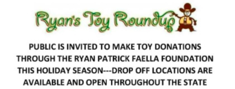 Ryan Faella Foundation Holds 20th Annual Toy Roundup Donation For Children