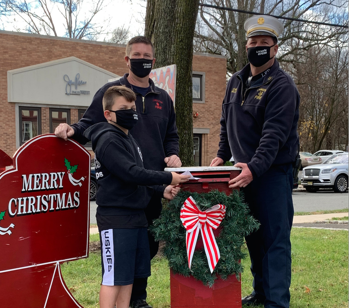 Santa's Mailbox Now Accepting Letters at Livingston Fire Headquarters