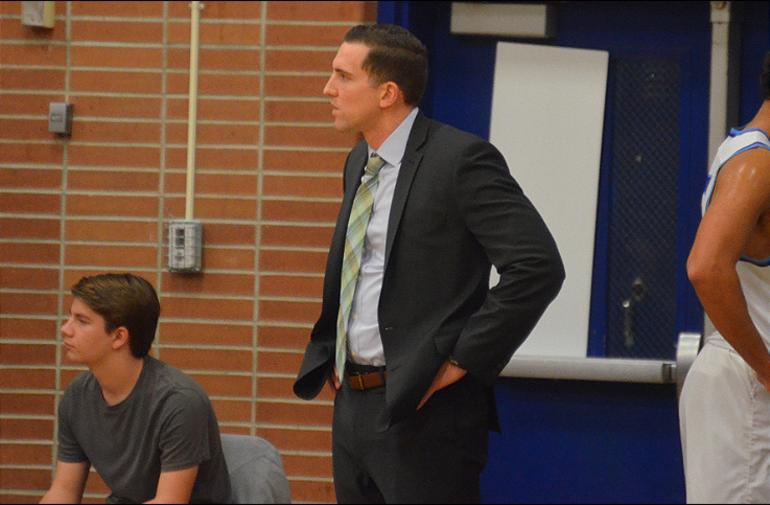 Scotch Plains-Fanwood coach Steve Siracusa watches as his team's lead slips away.