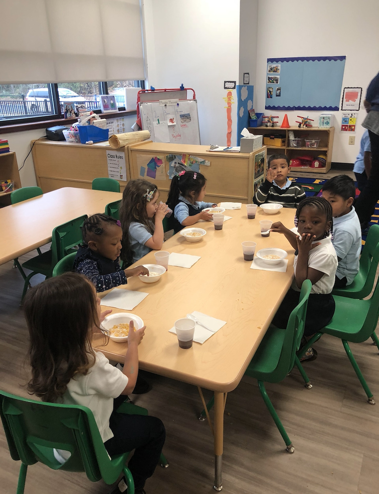 Youth Center in Plainfield Participates in Breakfast Program