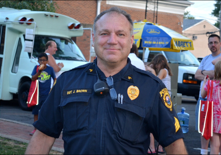 Scotch Plains police officer Jerry Brown at National Night Out.png