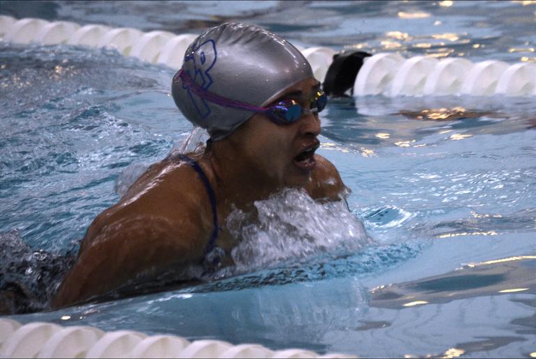 Scotch Plains-Fanwood girls swimming's Chloe Howell.