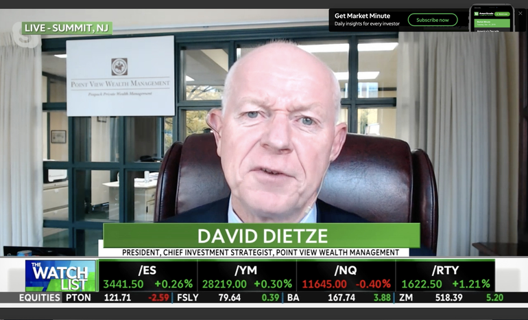 VIDEO: Point View's Dietze Says Too Close to Election to Get Stimulus Package 'Over the Goalpost'