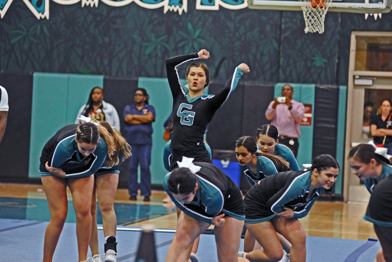 Coral Glades Cheer Team Looking For 4th State Title In A Row