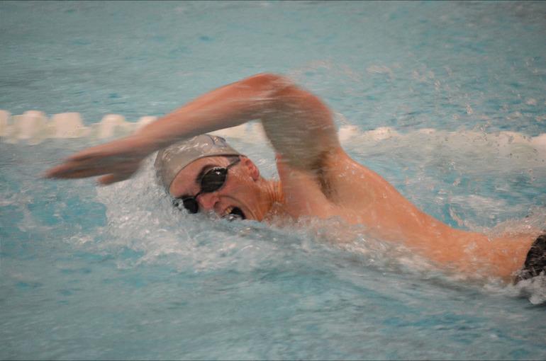 Scotch Plains-Fanwood boys swimming's Matt London.
