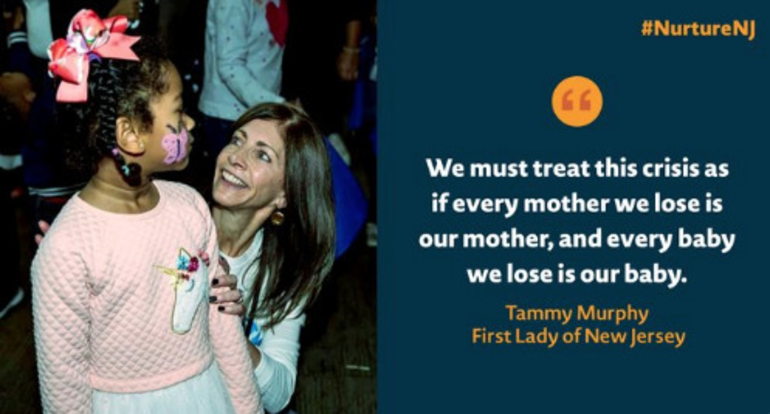 NJ First Lady Tammy Murphy Introduces Strategic Plan for Maternal Care