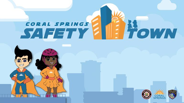 Coral Springs Kicks-Off Safety Town Virtually, July 14